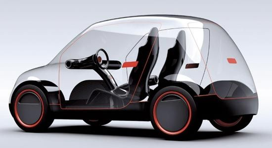 """Elvis Tomljenovic - The vehicle will have the capability to play video right on its surface itself! It has """"outer and inner polycarbonate layers, with layers of liquid crystals, LED diodes and electrochromic foil (film) in-between""""."""