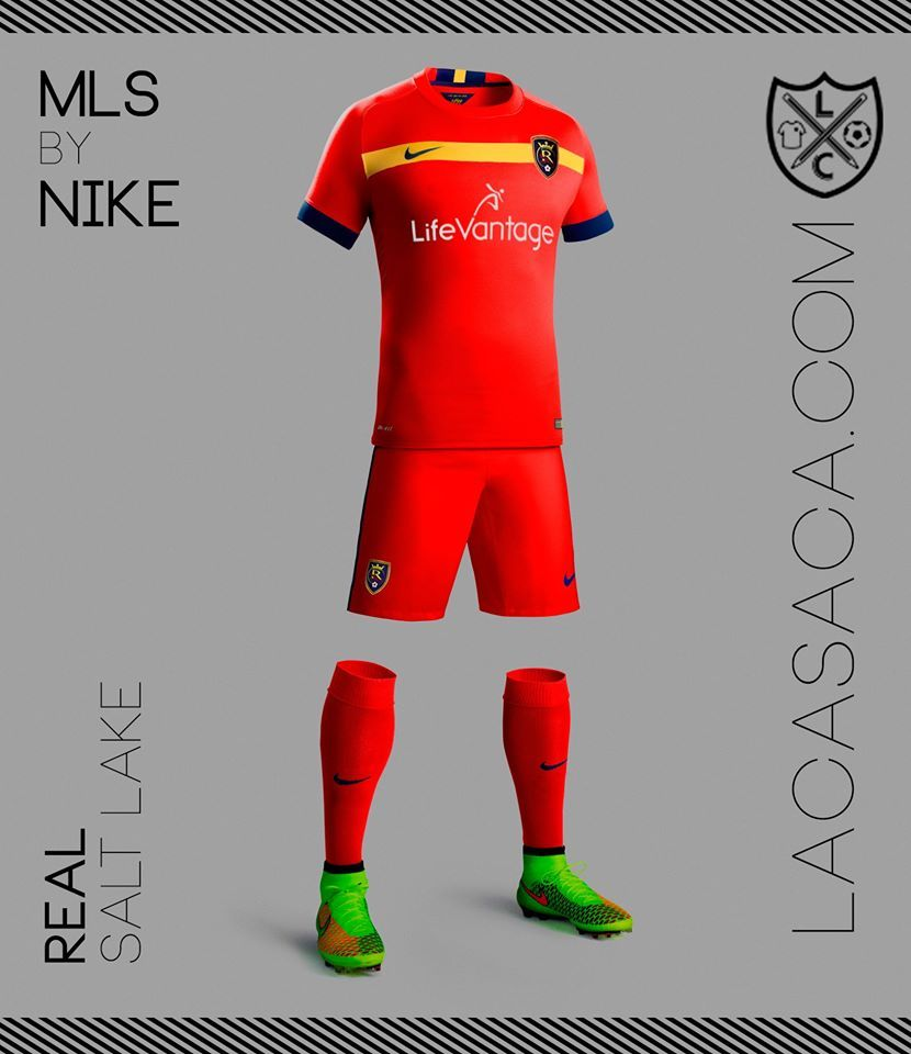 MLS by NIKE - Real Salt Lake  d9673bb0e7ab3
