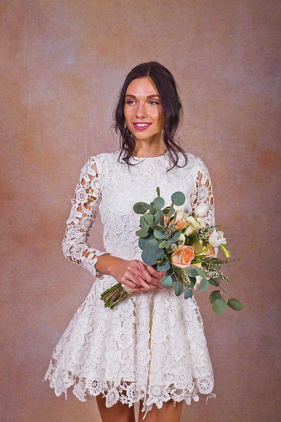32 vestidos de novia cortos y fabulosos para tu boda | d&a boda