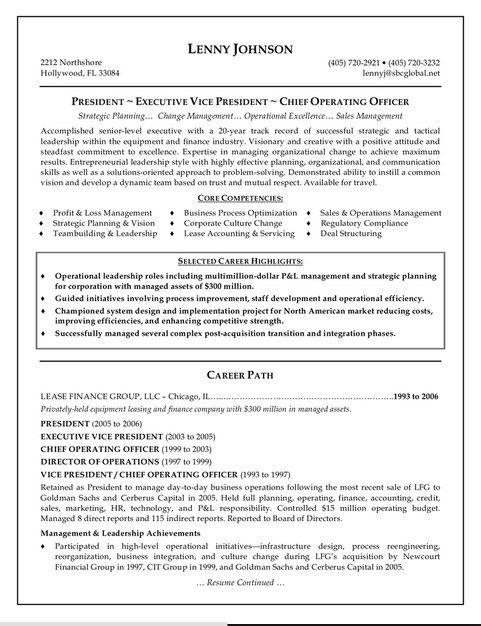 Resume Example Log In