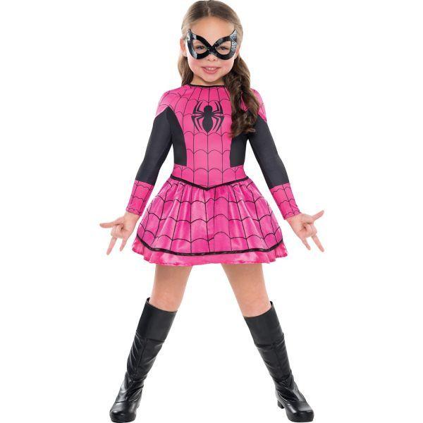 Girls Spider-Girl Costume  sc 1 st  Pinterest & Girls Spider-Girl Costume | Projects to Try | Pinterest | Spider ...