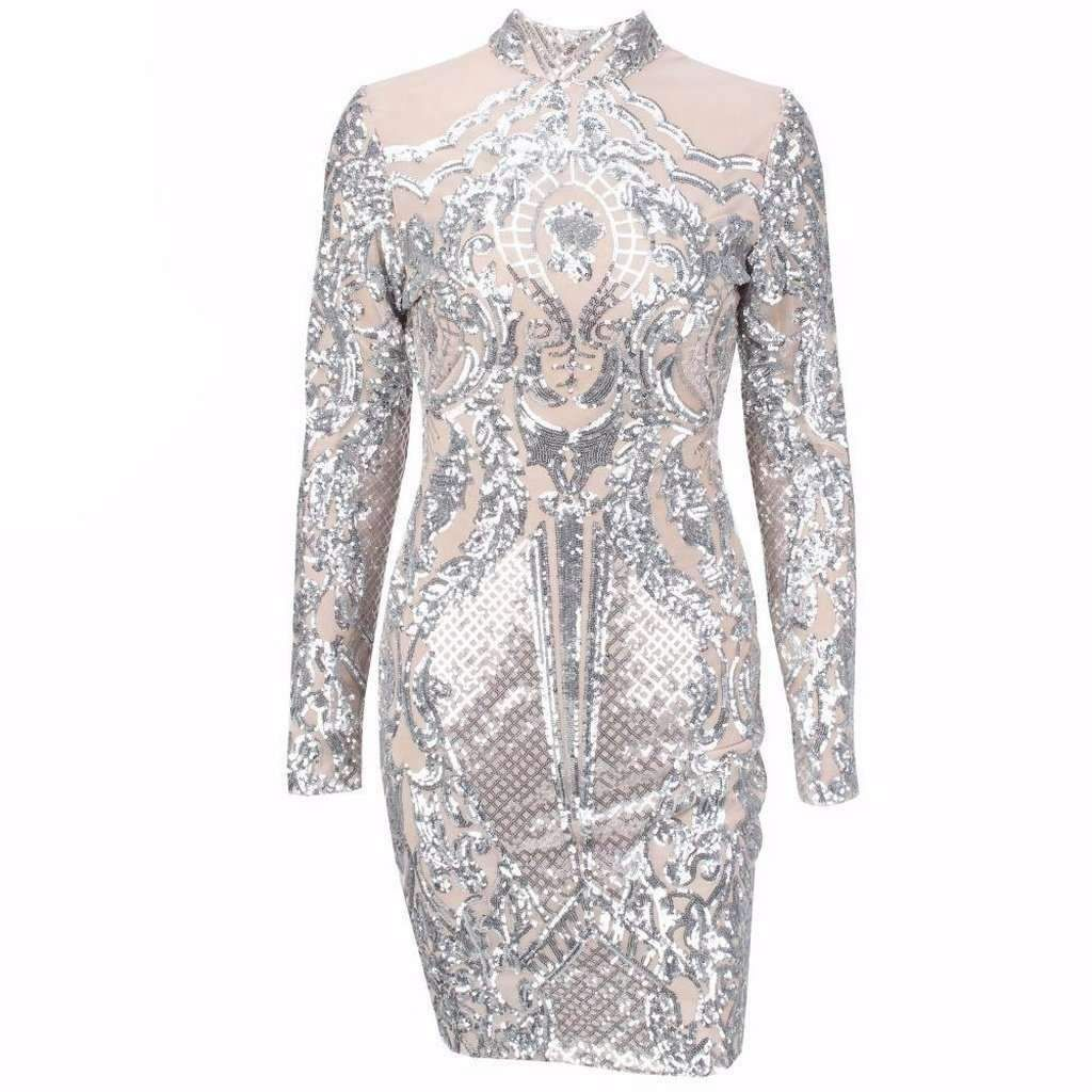 c80cd163adb Caly   Kaana Dazzling Sequin Dress