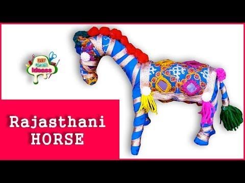 Rajasthani Rajasthani Newspaper Art And Craft Creative Project