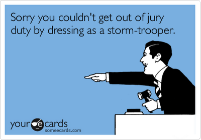 Jury Duty | Funny Stuff | Jury duty, Funny Quotes, Funny jokes