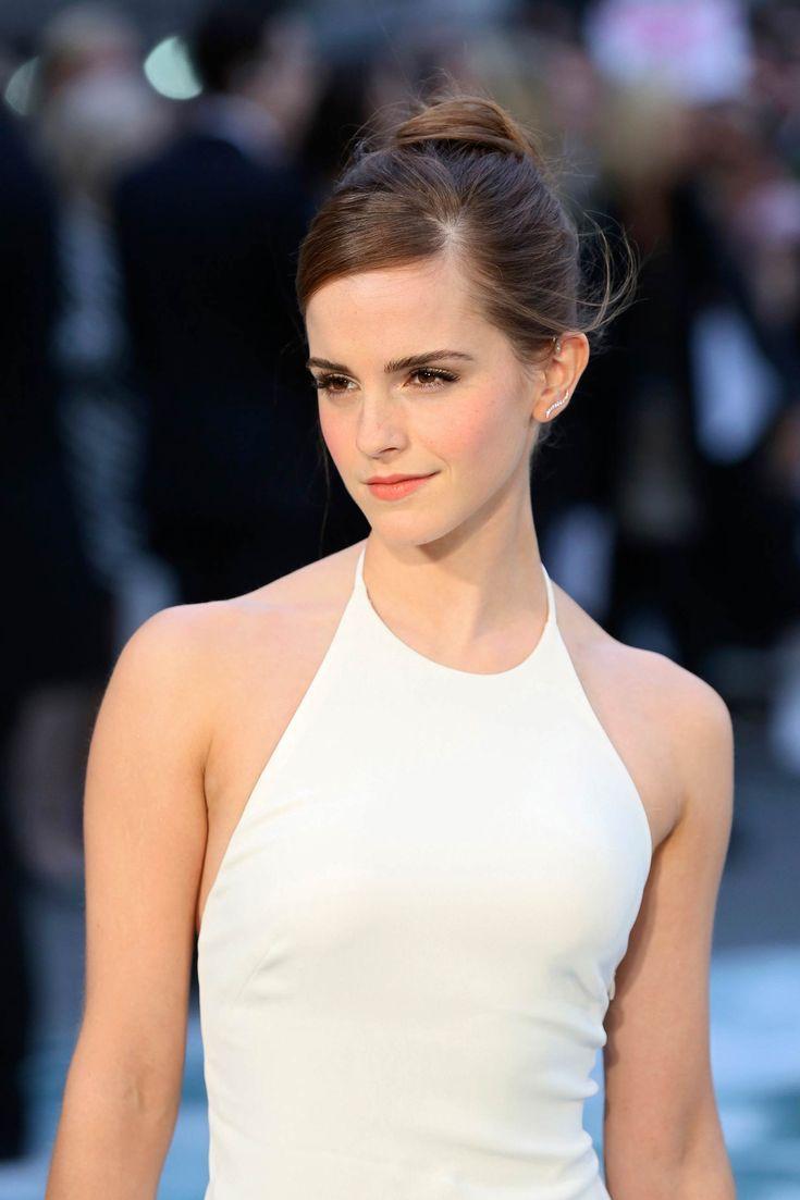 Photo of Emma Watson kommt 2014 zur britischen Premiere von Noah nach London.