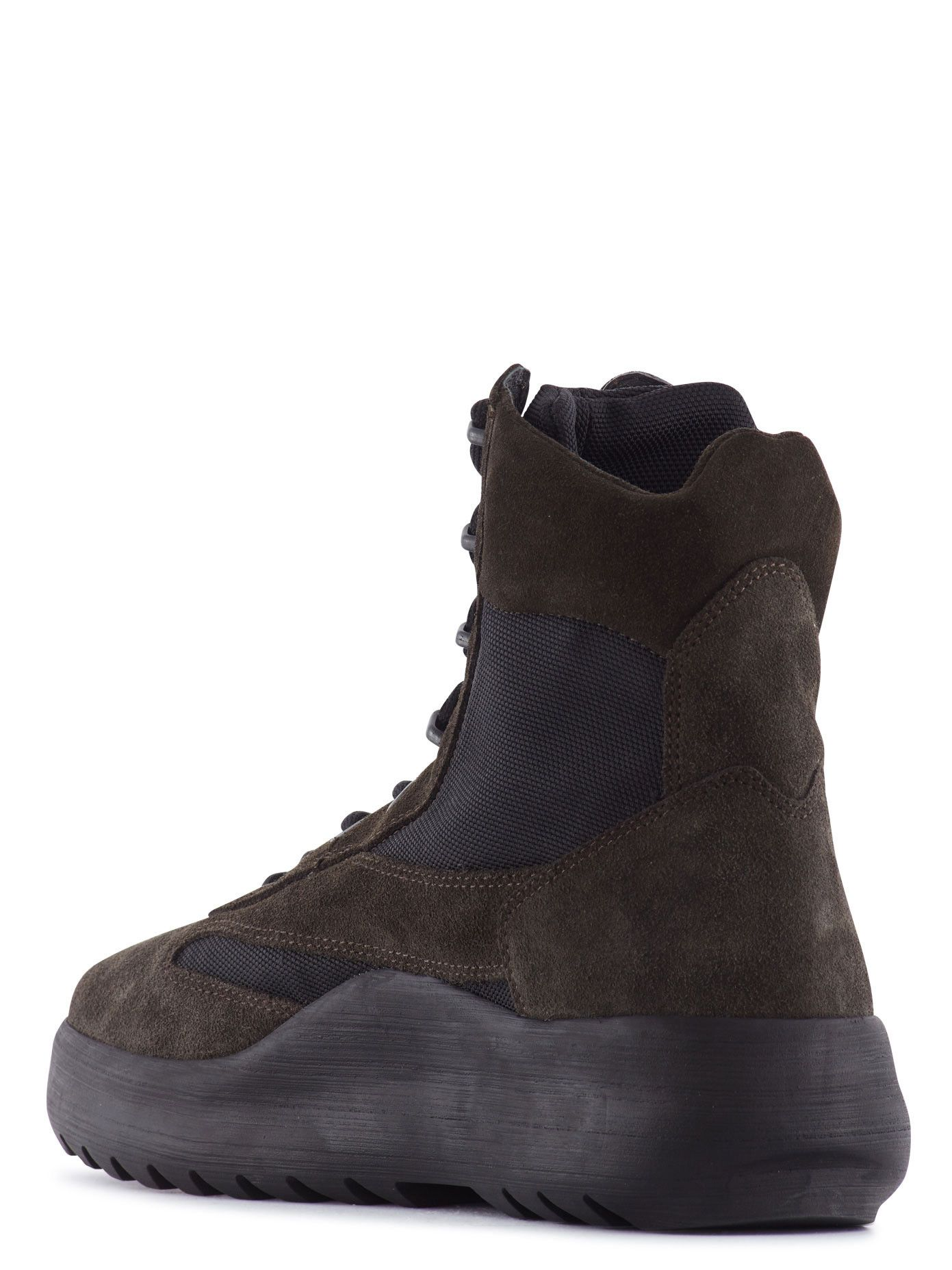 f19b5133725b2 Yeezy Season 5 - Suede And Mesh Military Boots