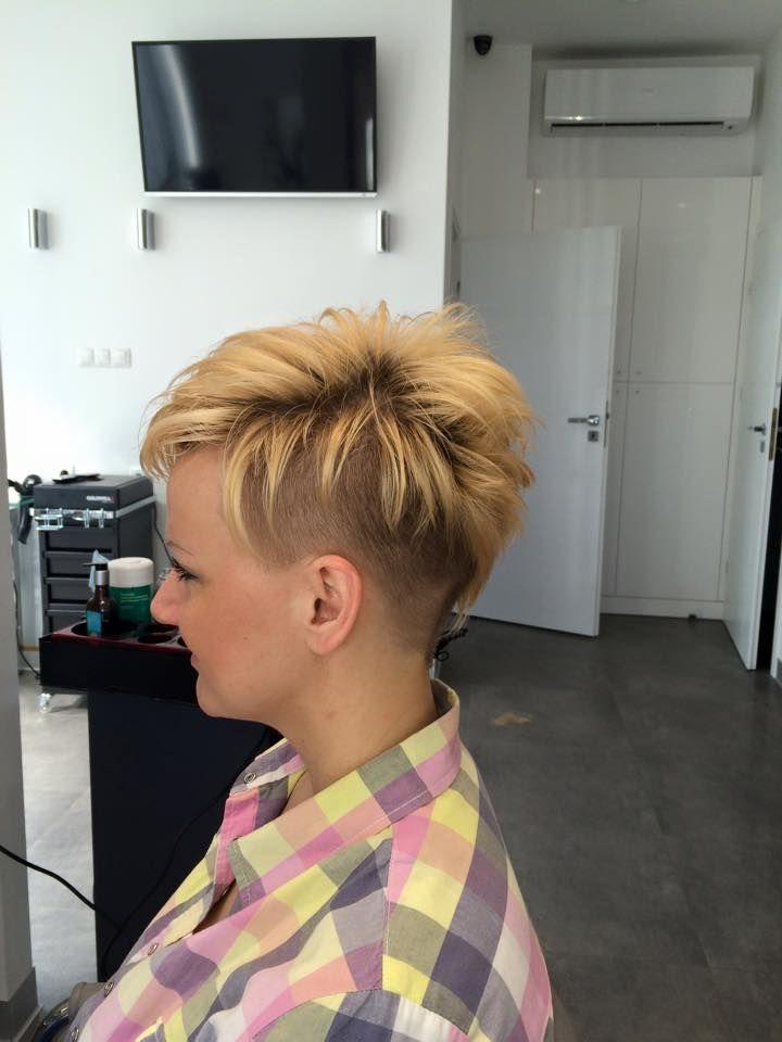 salon short haircuts womens short haircut by studio modnej fryzury salon fryzjerski