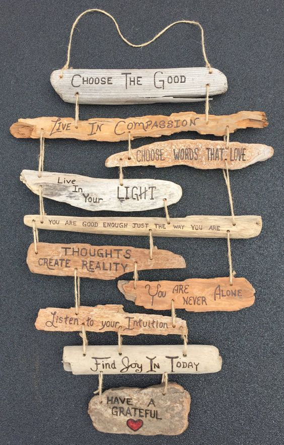 Photo of Driftwood: 21 DIY inspirations to integrate it into your decoration