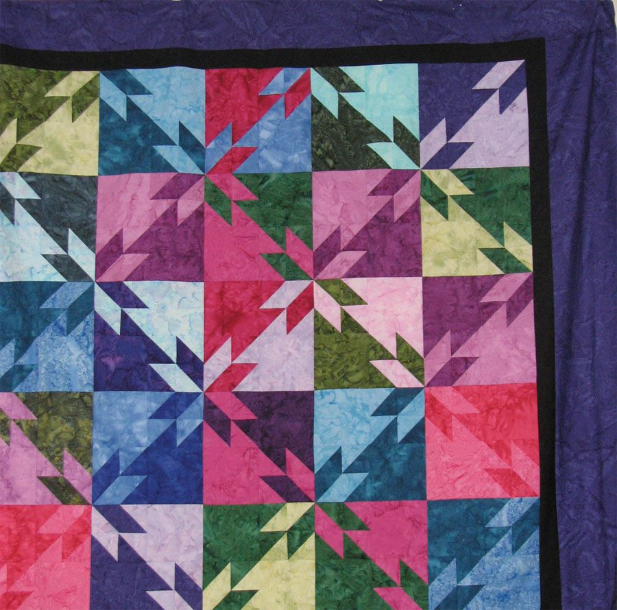 Orion Star Quilt Block