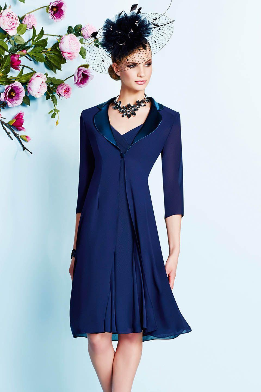 Slim fit wedding dresses  Veni Infantino  occasion wear  Colour Royal Blue  Sale price