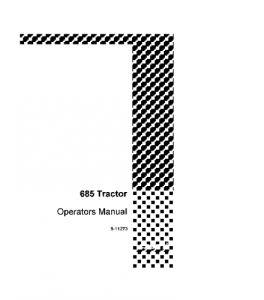 Best case ih 685 tractor operators manual download