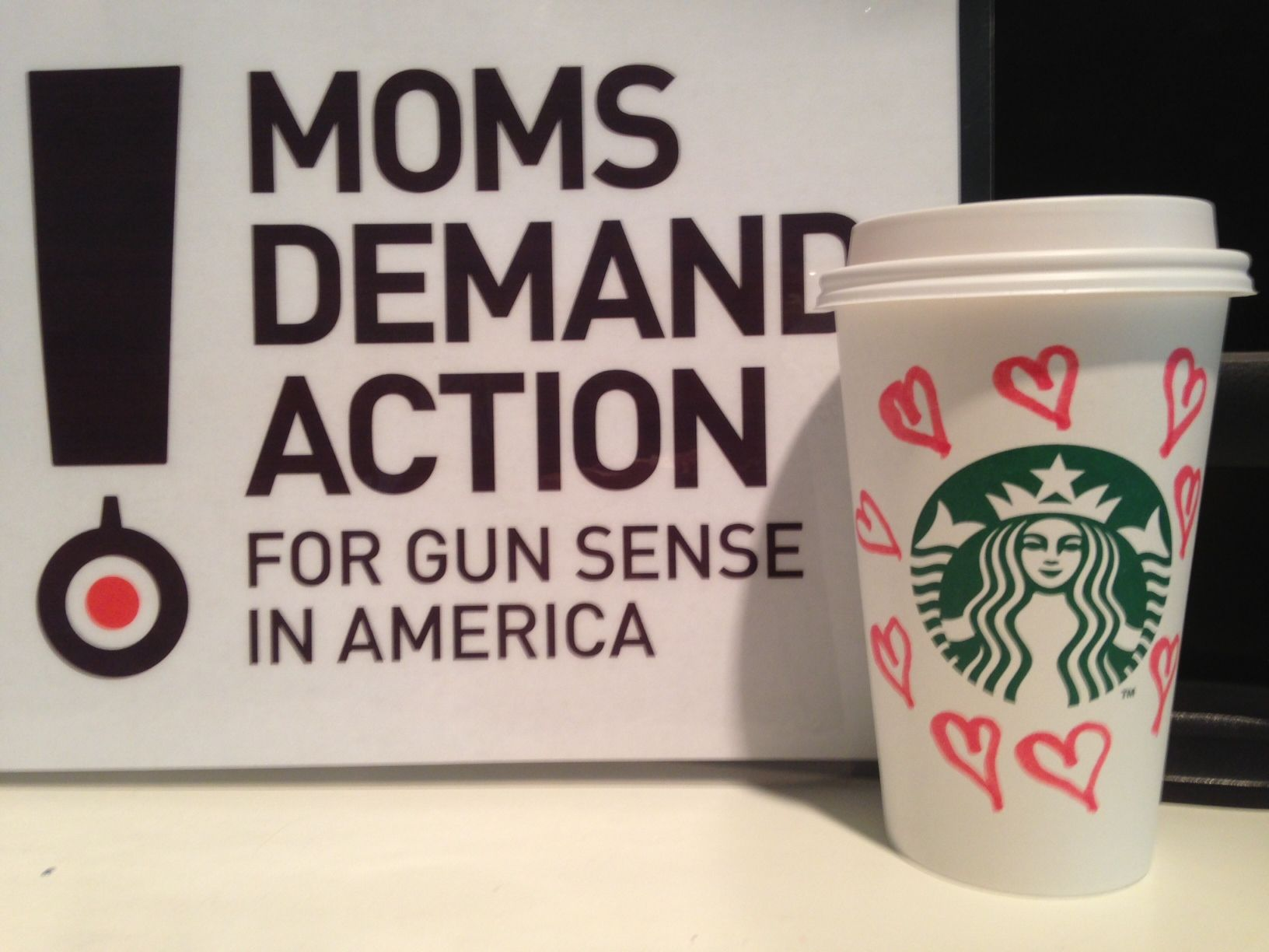 Today we celebrate that our voices were heard. Starbucks will show gun sense by asking customers to leave guns at home. Join us and #CelebrateStarbucks