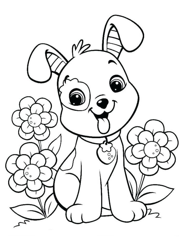 Cat And Dog Coloring Pages For Adults Dogs Are Man S Best Friend The Relationship Between Dogs A In 2020 Puppy Coloring Pages Dog Coloring Page Animal Coloring Books