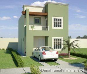 Desain Rumah Minimalis 2 Lantai Type 21 Sederhana & Desain Rumah Minimalis 2 Lantai Type 21 Sederhana   dream house ...