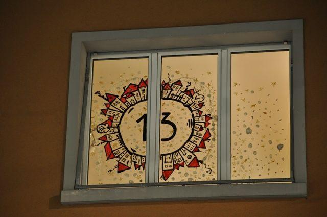 Vorlage Foto Adventfenster Adventsfenster Weihnacht Fenster