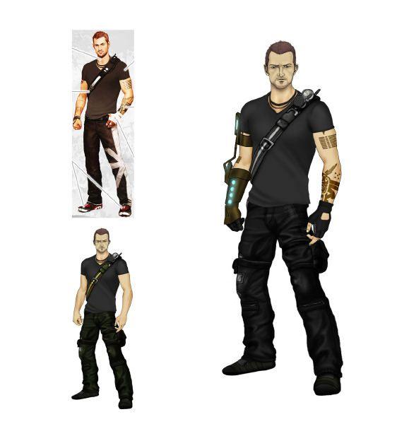 Infamous 2 S Cole Concept Art Infamous 2 Character