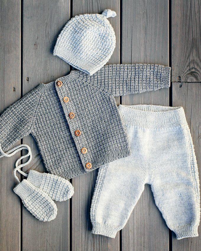 Patrons de tricot bébé: nos modèles préférés