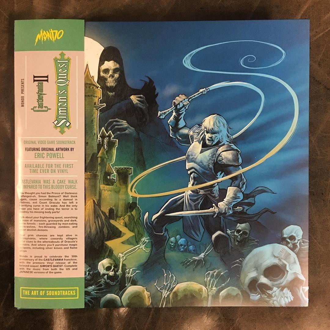 Castlevania Ii Simon S Quest Mondo Vinyl Vinyl Records Covers Record Album