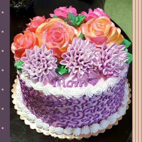 Awesome Done At Fred Meyer By My Mama Bear Cake Art Cake Birthday Cake Funny Birthday Cards Online Inifofree Goldxyz