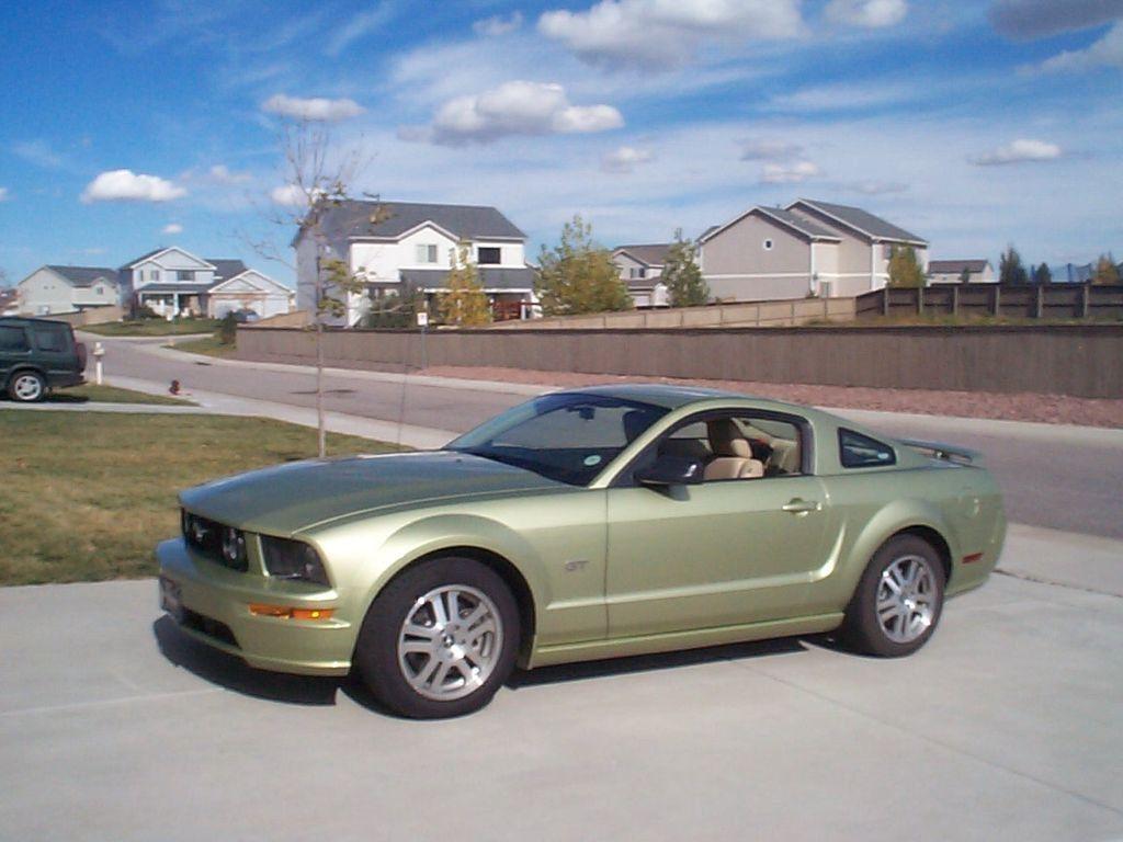 All Types 2006 mustang gt specs : 2006 Mustang GT   Legend Lime Mustang   Pinterest   2006 mustang ...
