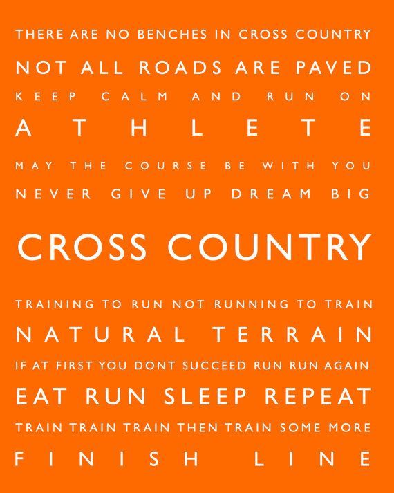 Cross Country Personalized Sports Decor Sports By Paperwalldesign