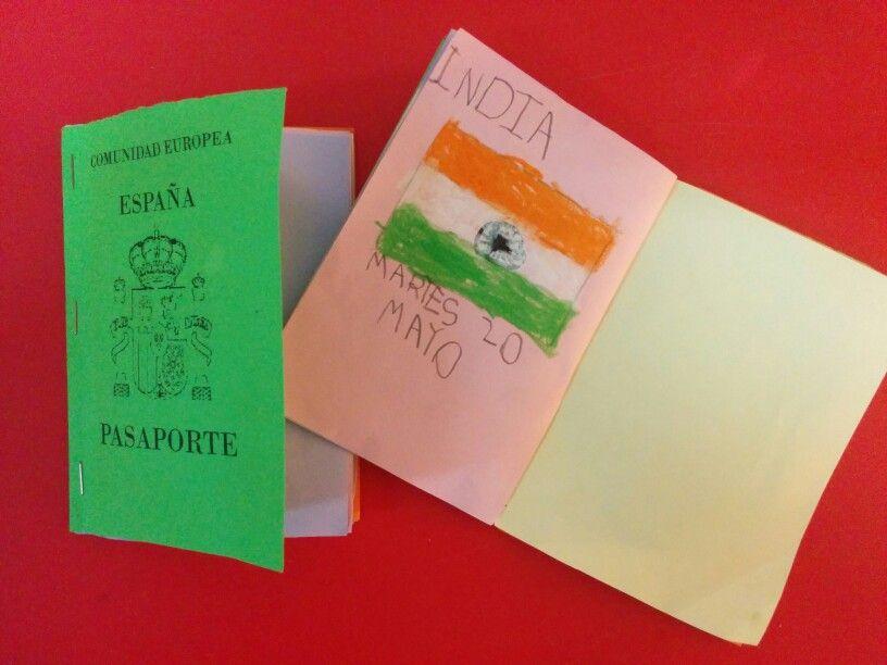 INDIA: Nuestro pasaporte!