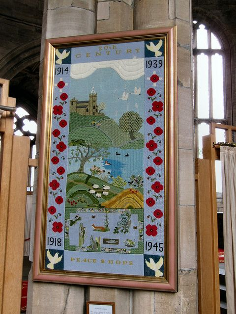 Linlithgow church embroidery 20thC IMG_1646 adj by dajavous, via Flickr