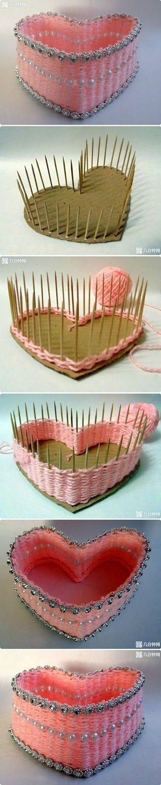 Make a Lovely Heart Box