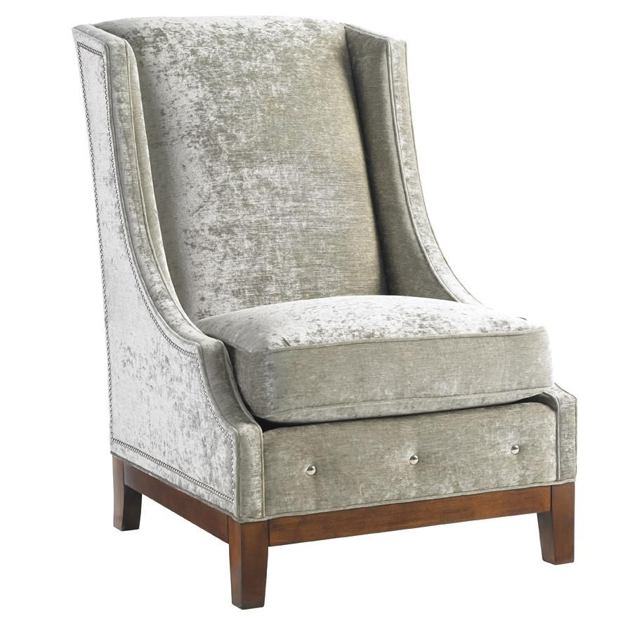 Mirage Ava Wing Chair By Lexington Home Brands   Baeru0027s Furniture   Wing  Chair Miami,