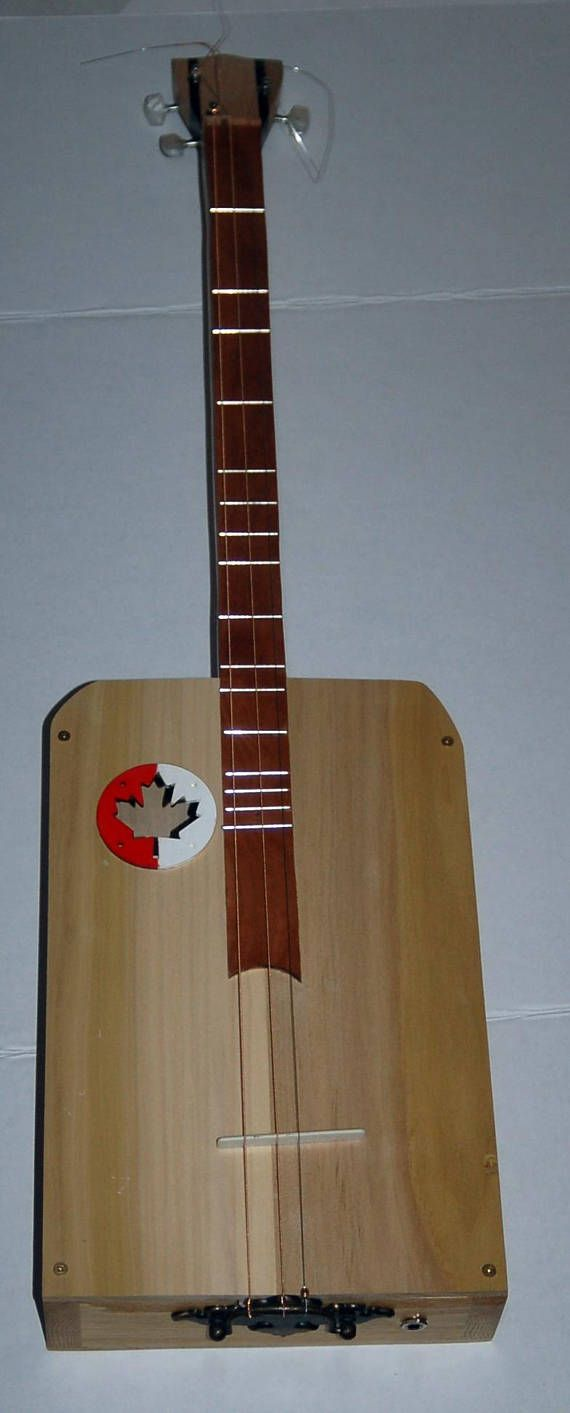 Hey, I found this really awesome Etsy listing at https://www.etsy.com/ca/listing/583374327/the-canadiana-3-string-cigar-box-guitar