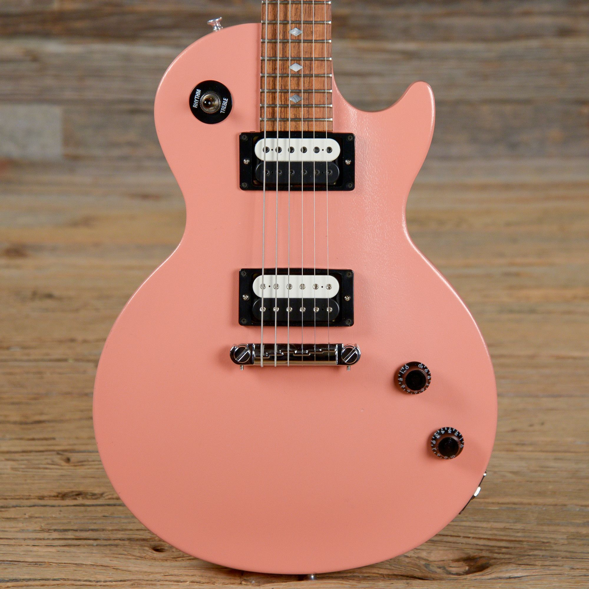 Gibson Les Paul Vixen Coral Pink 2006 S561 Guitar And In 2018 Epi Vs Selector Switch Mylespaulcom