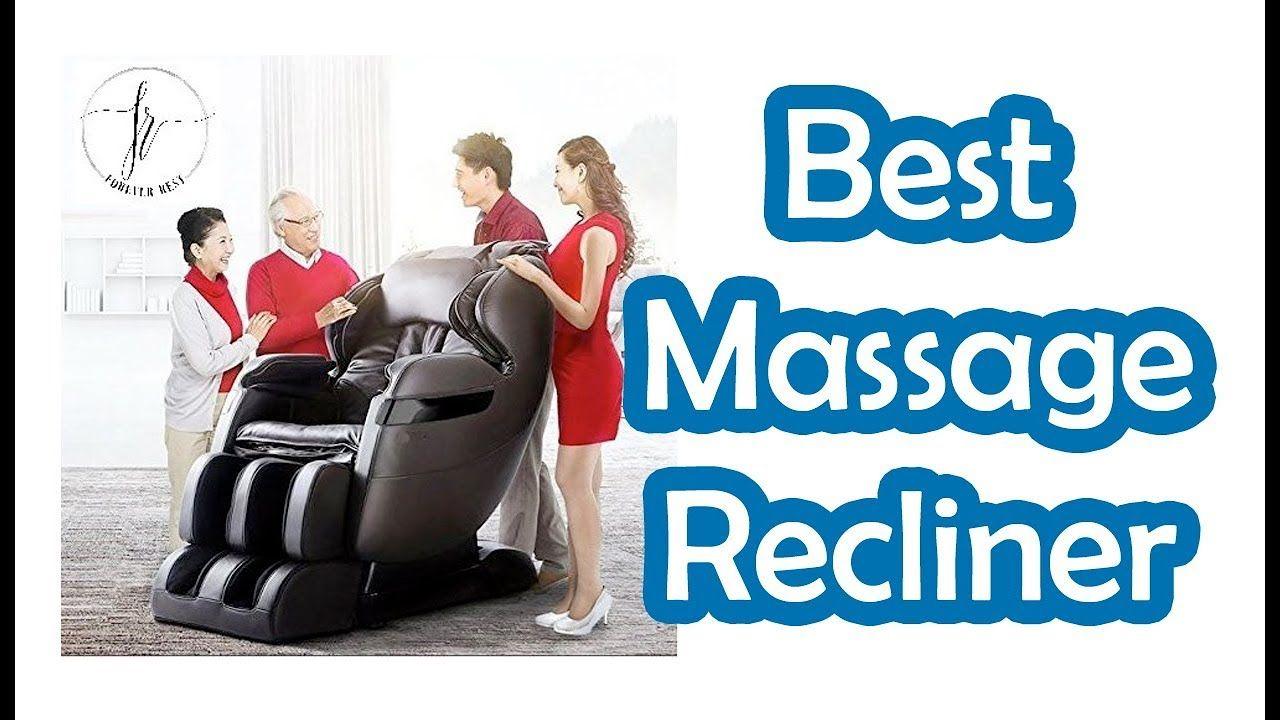 BEST MASSAGE RECLINERS 2018 TOP 10 LIST Good massage