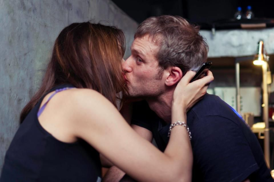Ben Klock with friendly, Girlfriend Nina Kraviz