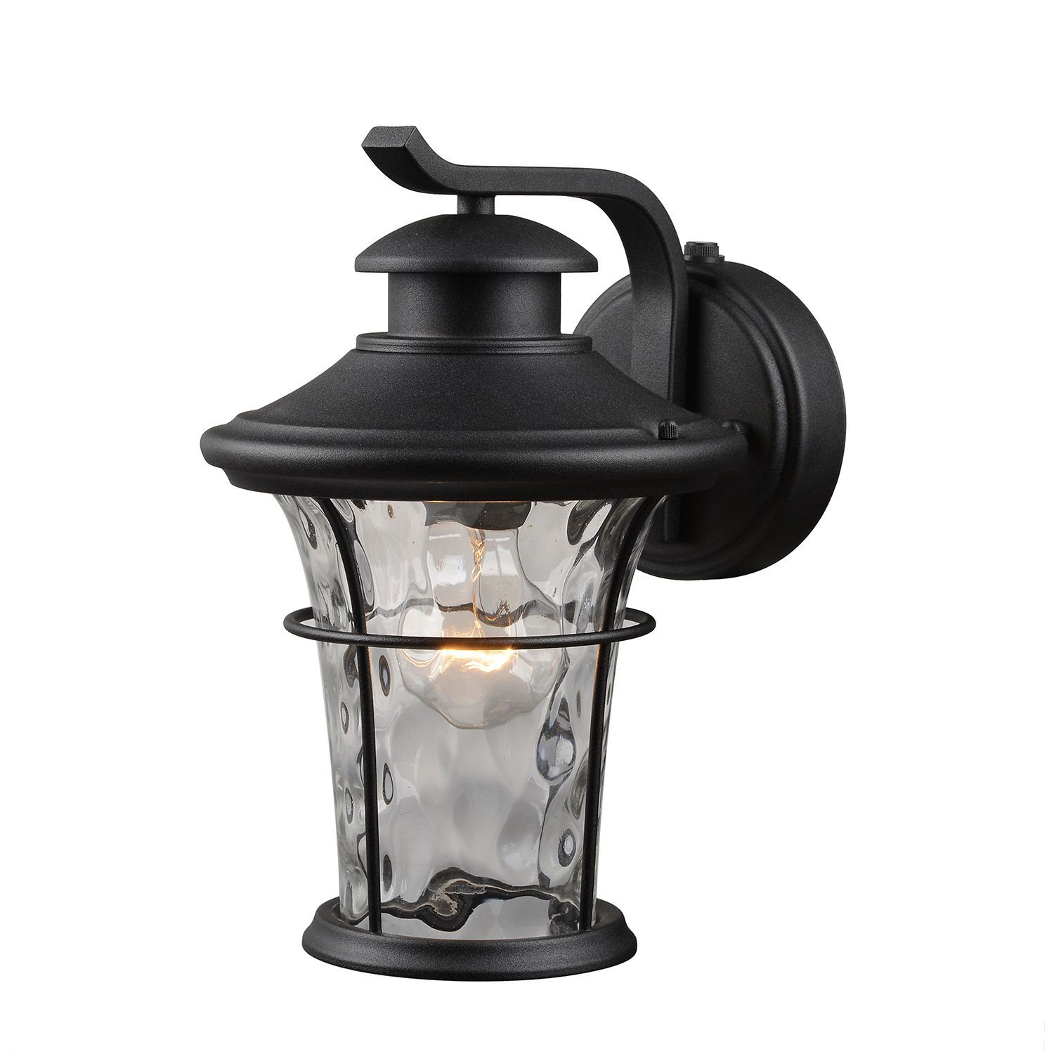 Hardware House Wall Mounted Dusk To Dawn Lantern Textured Black Sam S Club Outdoor Wall Mounted Lighting Outdoor Wall Lantern Lantern Light Fixture