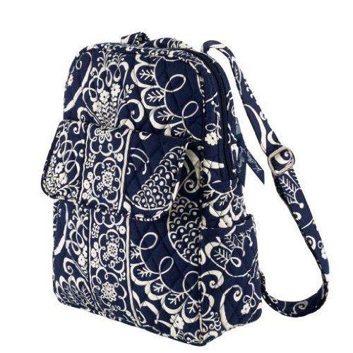 981058ec035a Vera Bradley Backpack Twirly Birds Navy NEED THIS ONE!!! I LOVE IT ...