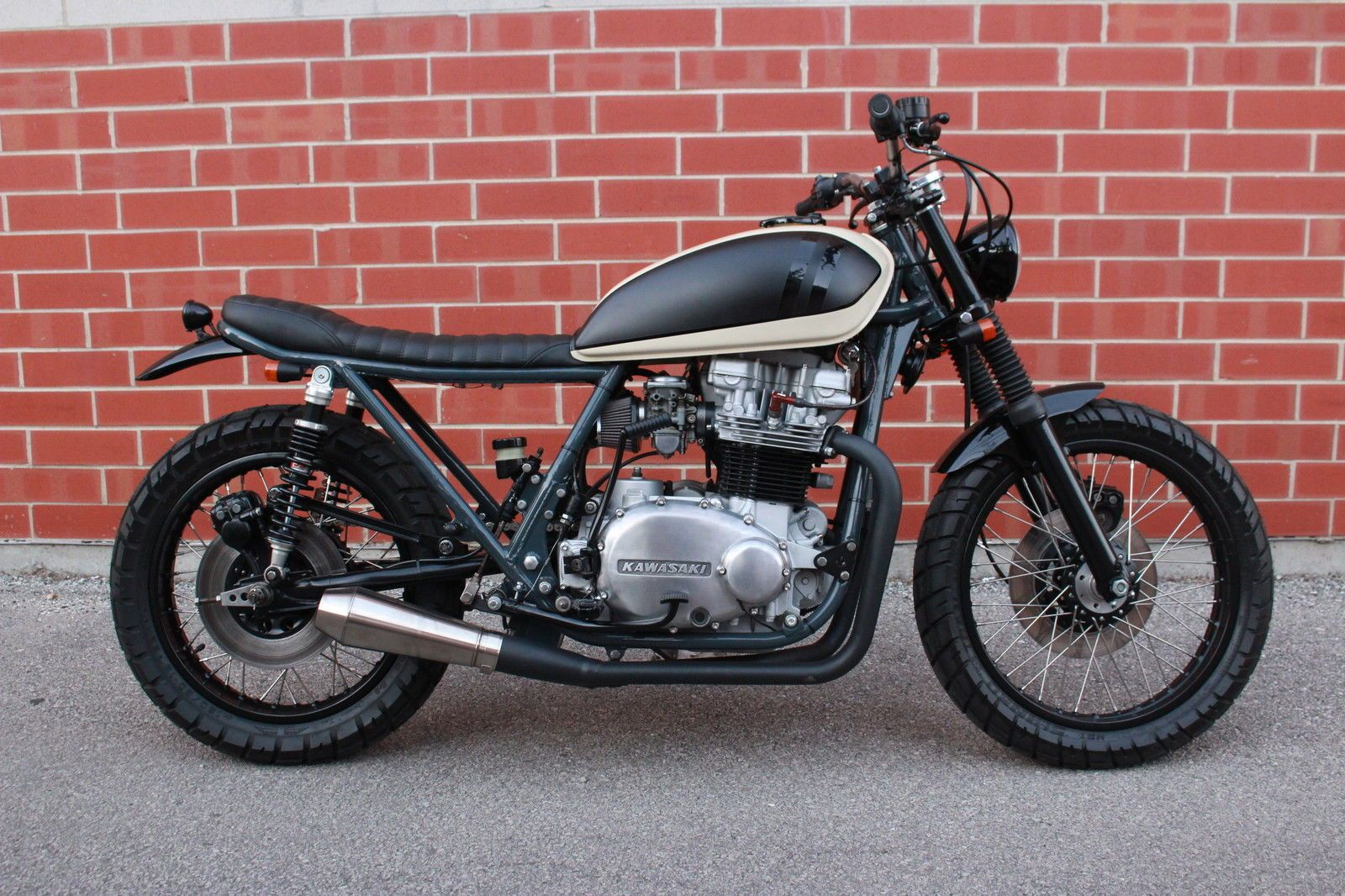 Z750 Twin Cafe Racer Amatmotorco