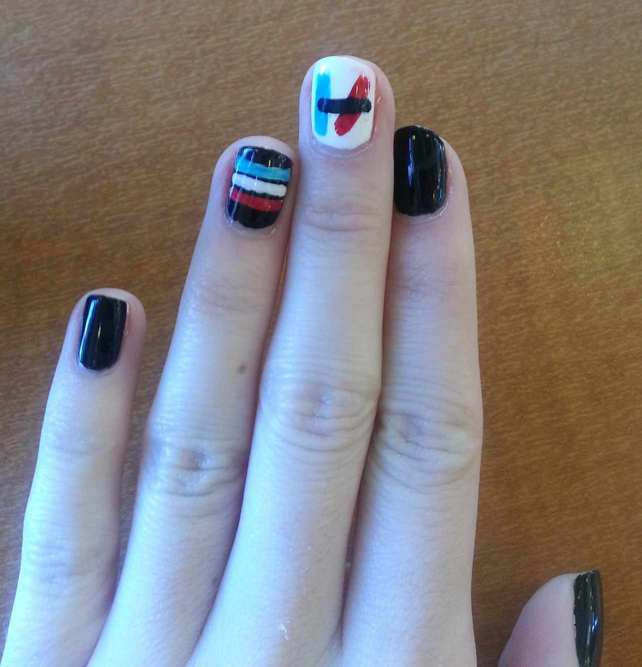 Twenty one pilots nails | Nails | Pinterest | Diseños de uñas ...