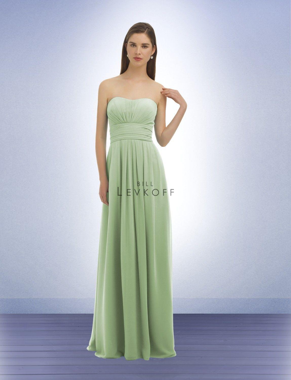 64bccc1bdcb4 Bridesmaid Dress Style 332 in Clover (Bill Levkoff)   Bridesmaid ...