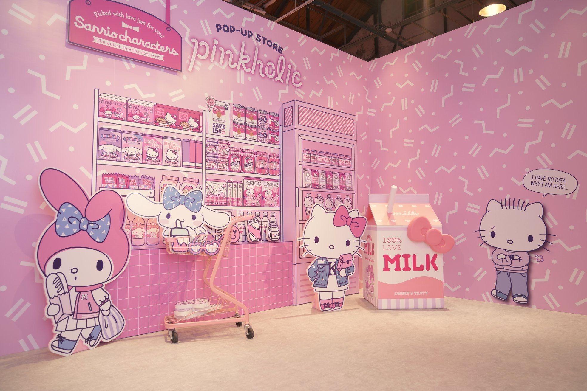 23532dd5b0 Cute corner at Sanrio Pinkholic (╹◡╹)Taipei