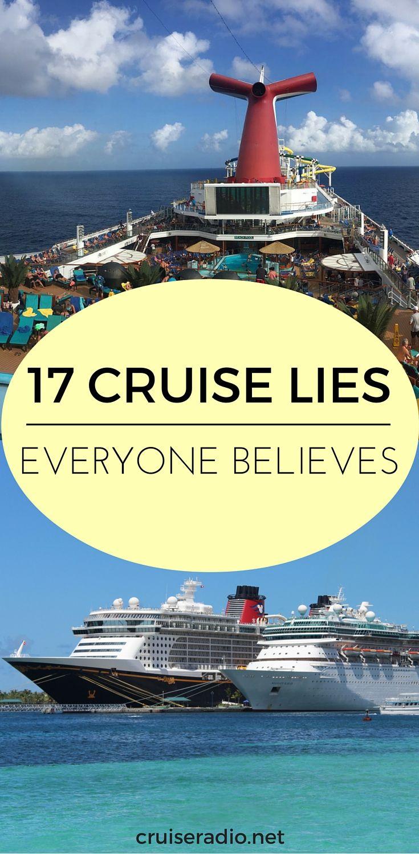 17 Cruise Lies Everyone Believes