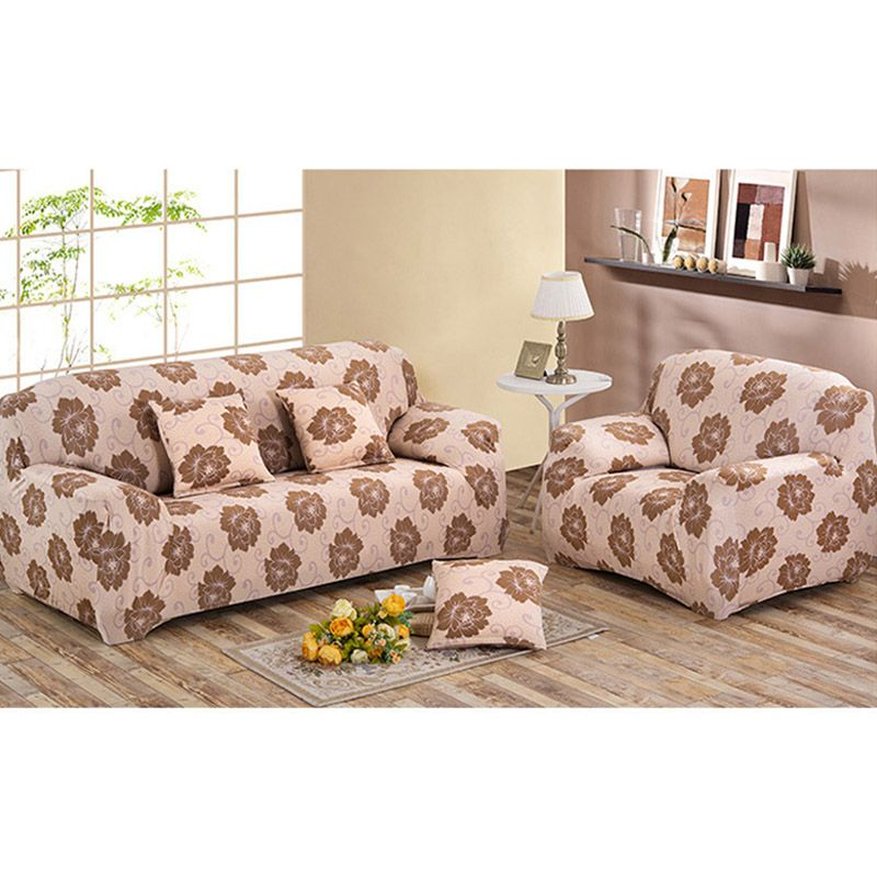 High Quality Full Slipcover Stretchy Printing Sofa Cover Couch