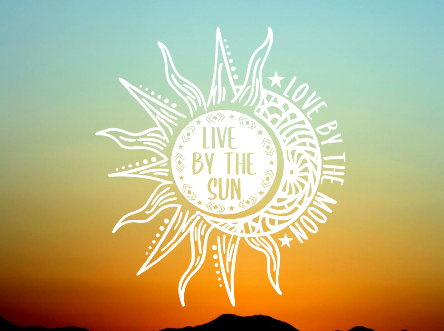 Download Live By the Sun Love By the Moon Vinyl Decal - Vinyl ...