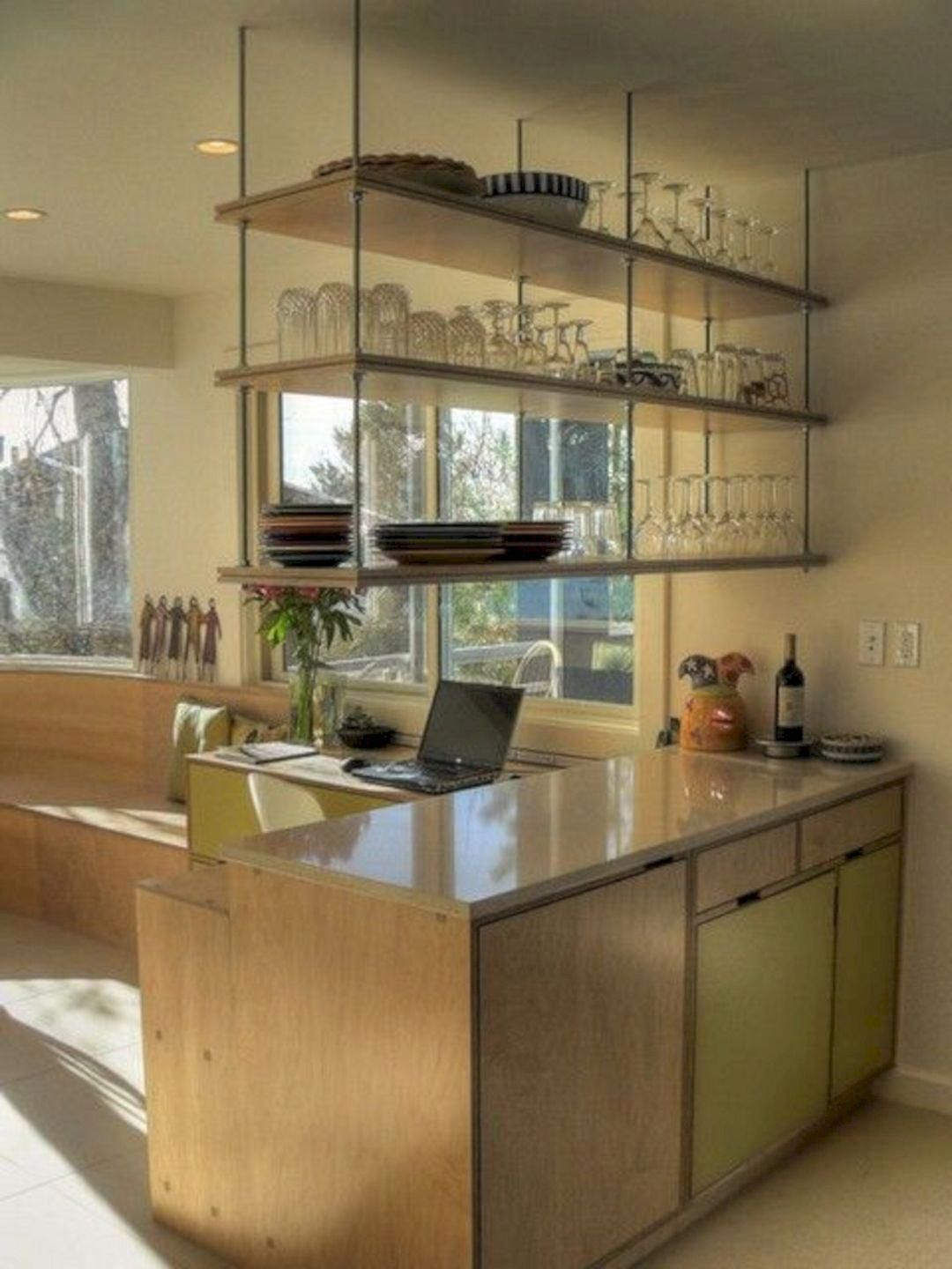 Laminates The Surface Frequently Described By The Brand Name Formica Is Plastic Coated And Re Hanging Shelf Kitchen Hanging Kitchen Cabinets Hanging Cabinet