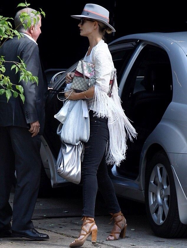 July 29: Rosie out and about in London