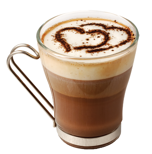Coffee with Hearts Transparent PNG Picture | Kávička ...
