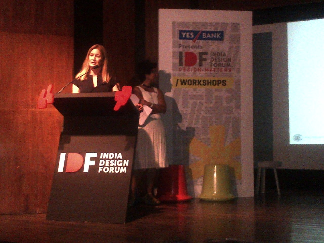 Prof Alba Cappilieri Head Of Fashion Design Politecnico Di Milano Speaking At Idf On Emerging Scenario In F India Design Design Fashion Design
