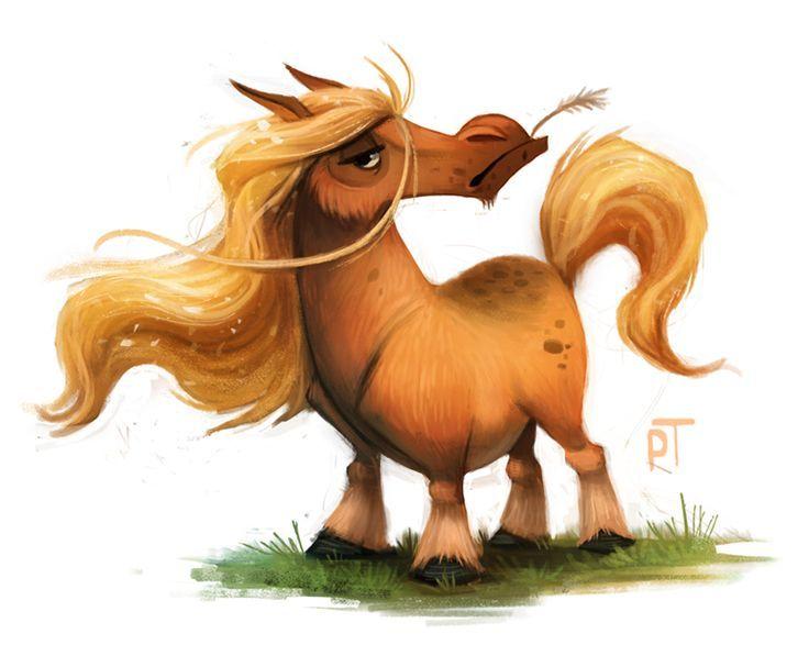 Вест хайленд, прикольные картинки с лошадью на тему работа