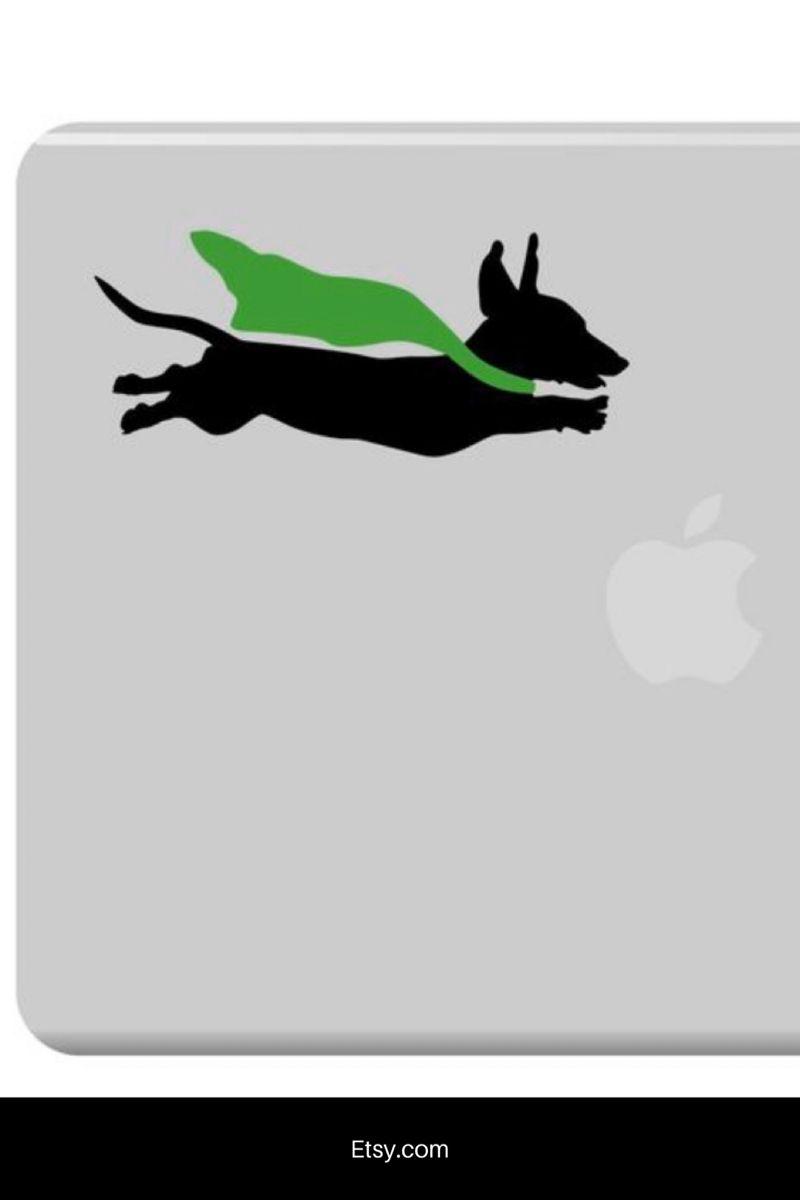 Dachshund Decal Weiner Dog Sticker Laptop Doxie Sticker Dog Etsy Dog Stickers Weenie Dogs Weiner Dog [ 1200 x 800 Pixel ]