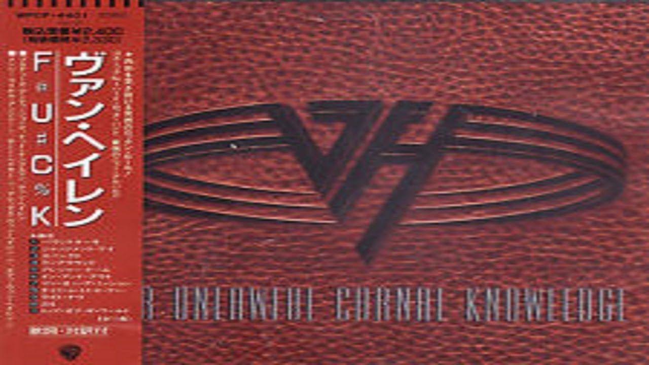 Van Halen For Unlawful Carnal Knowledge Full Album Van Halen Rock And Roll Bands Up Music