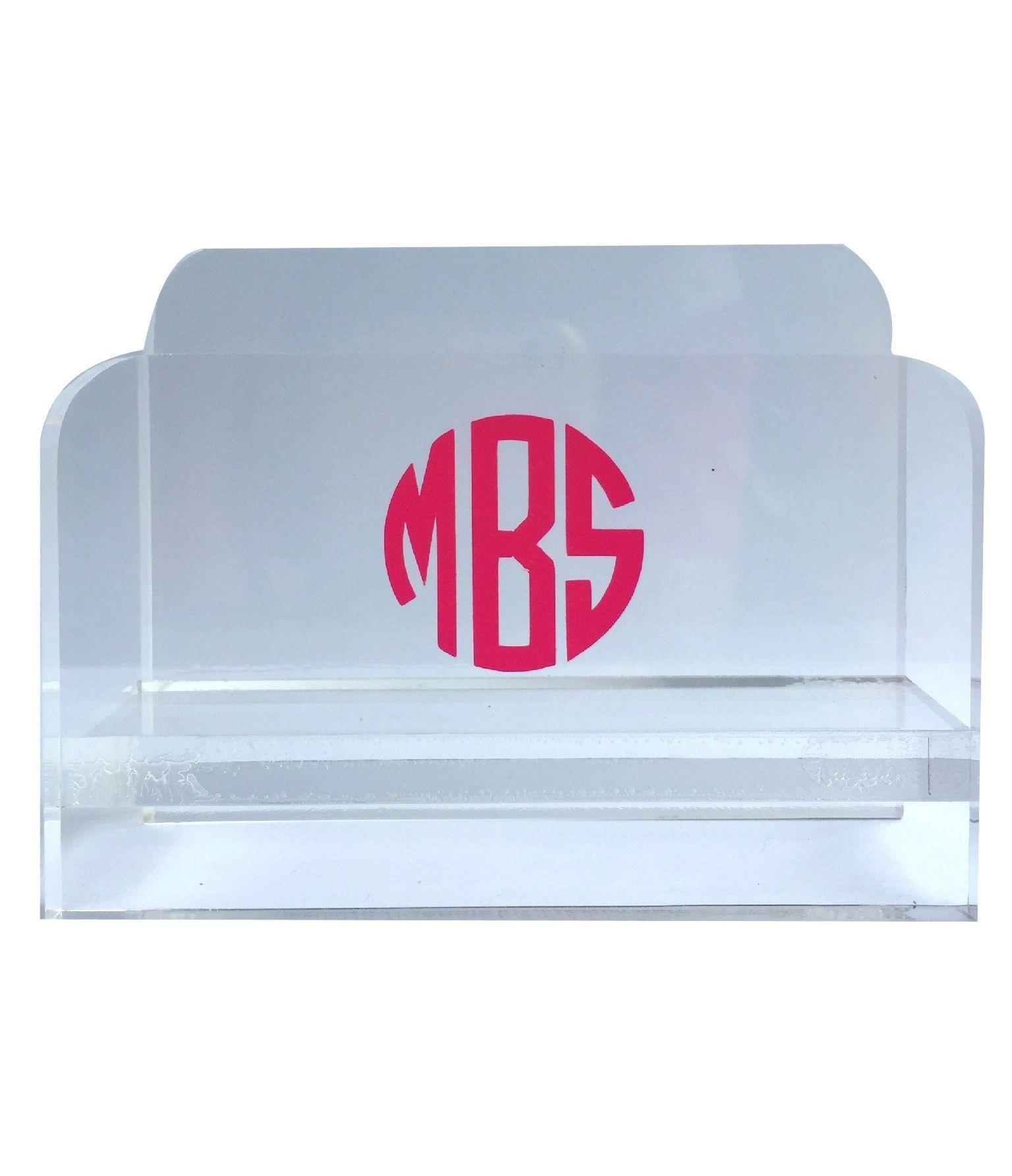 Acrylic Business Card Holder | Business card holders, Business cards ...